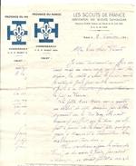 SCOUT DE FRANCE .PROVINCE DU MAROC . 1941 - Vieux Papiers