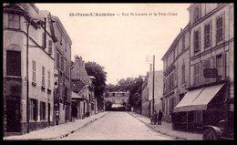 95 - SAINT OUEN L'AUMONE --  Rue St Lazare  Et La Demi Lune - Saint-Ouen-l'Aumône