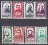 N° 795 à 802 8 Val Centenaire De La Révolution De 1848: Série En Timbres Neuf Sans Charnière Impeccable - Unused Stamps