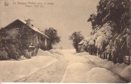 2037-La Baraque Michel Sous La Neige Hiver 1925-26  -Jalhay- - Belgique