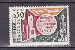 N° 1334 Journée Mondiale Du Théatre:  Timbre Neuf Sans Charnière Impeccable - Unused Stamps