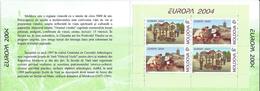MOLDOVA 2004. Europa CEPT. Holidays.Archaeology,Wine.booklet,booklets. Carnets. MNH - Moldavia