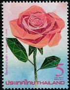 THAÏLANDE 2017 - Saint-Valentin, Roses, Timbre Senteur - 1 Val Neufs // Mnh - Thailand