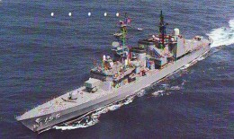 Phonecard JAPAN * War Ship (50) Boat Bateau Warship Military Ship Paquebot Navire De Guerre Boats Navy Leger Armee JAPON - Army