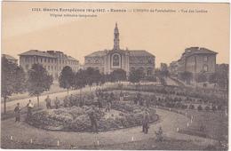 Guerre Européenne 1914-1917 - Rennes - L'Hôpital De Pontchaillou - Vue Des Jardins - Hôpital Militaire Temporaire - Rennes