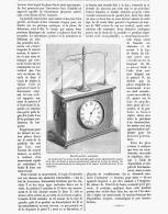 UNE NOUVELLE PENDULE AMERICAINE 1885 - Bijoux & Horlogerie