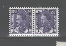 "IRAK 1934-1938 ""KING GHAZI"" #61 (PAIR), MINT NEVER HINGED - Iraq"