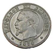 Deux Centimes - Napoléon III   - France - 1854 BB - Strasbourg -  Bronze - TTB - - France