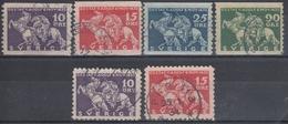 SUECIA 1932 Nº 224/27 + 224a USADO - Used Stamps