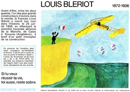 Buvard  -  LOUIS BLERIOT  1872-1936 - Transport