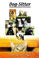 [MD1179] CPM - PUBBLICITARIA - CANI - DOG SITTER - Non Viaggiata - Cani