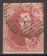 Medaillon 40 Cent Met Stempel P25 Van CHARLEROI In Zéér Goede Staat Met 4 Randen (zie Scan) ! Inzet Aan 25 € ! - 1849-1865 Medallions (Other)