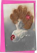 Portrait Femme Avec De Vrais Cheveux Roux - A Systèmes
