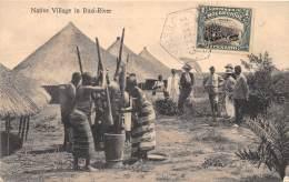 MOZAMBIQUE / Native Village In Buzi River - Belle Oblitération - Mozambique