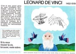 Buvard  - LEONARD DE VINCI 1452-1519 - Transports