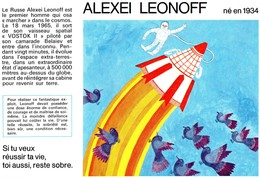 Buvard  - ALEXEI LEONOFF Né En 1934 - Transport