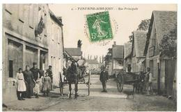 FONTAINE-SOUS-JOUY-RUE PRINCIPALE-EN1913- - Autres Communes