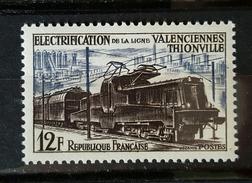 YT 1024 - électrification Ligne Valencienne Thionville - Neuf - France