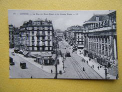 GENÈVE. La Rue Du Mont Blanc Et La Grande Poste. - GE Ginevra