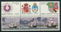 Argentina 1984 / Ships Columbus MNH Barcos Cristobal Colon Bateaux Versand / Cu3309  5 - Barcos
