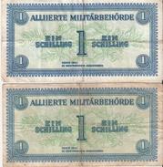 BILLET AUTRICHE OCCUPATION ARMEES ALLIEES 1944 ALLIIERTE MILITARBEHORDE - Austria