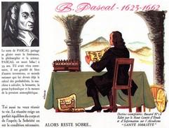 Buvard   B. PASCAL 1623 - 1662 - Blotters