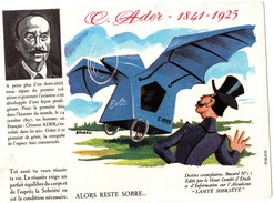 Buvard  - C. ADER 1841-1925 - Transport