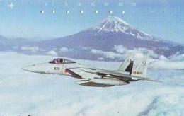 TELECARTE JAPON * MILITAIRY AVION  (582)  Flugzeuge * Airplane * Aeroplano * PHONECARD JAPAN * ARMEE * LEGER VLIEGTUIG - Armée