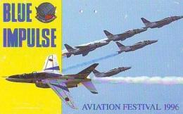 TELECARTE JAPON * MILITAIRY AVION  (591)  Flugzeuge * Airplane * Aeroplano * PHONECARD JAPAN * ARMEE * LEGER VLIEGTUIG - Armee