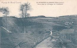 CPA SAINT-BONNET-LE-FROID (43) VUE SUR LE VILLAGE DE TREDOT - Autres Communes
