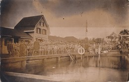 Foto Kolberg Kolobrzeg Pommern Polen 1925 Schwimmverein Aegir E.V. Schwimmbad Schwimmer - Pommern