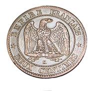 Deux Centimes - Napoléon III   - France - 1862 K - Bordeaux -  Bronze - TTB+ - - France