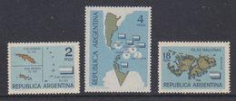 Argentina 1964 Islas Malvinas / Falkland Islands  3v ** Mnh (35605) - Argentinië