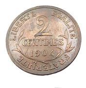 Deux Centimes - Dupuis  - France - 1904 -  Bronze - TTB - - B. 2 Centesimi