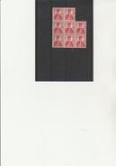 SUISSE - TIMBRE N° 131  HELVETIA NEUF XX BLOC DE 8 . ANNEE 1909 -   COTE :24 € - Neufs
