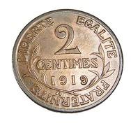 Deux Centimes - Dupuis  - France - 1919 -  Bronze - Sup - - B. 2 Centesimi
