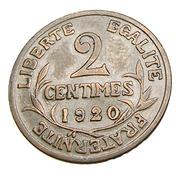 Deux Centimes - Dupuis  - France - 1920 -  Bronze - TTB + - - B. 2 Centesimi