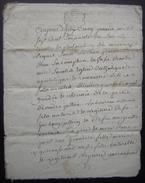 1760 Charente, Généralité De La Rochelle Mariage De André Jullien Et Marie Garroussan 8 Pages Bon état - Manuskripte