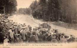 Coupe Gordon Bennet: Un Virage à Saalburg Avant Les Tribunes.(petits Décollements) - Saalfeld