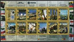 Venezuela (2006) Yv. 2555/66  /  Energy - Oil - Pretrole - Petroleum - Petroleo - OPEP
