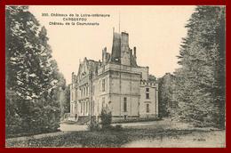 Théme Chateau De La Loire Inférieure *  Carquefou  * Chateau De La Couronnerie * ( Scan Recto Et Verso ) - Andere Gemeenten
