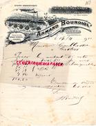 81 - SALVAGES- PRES CASTRES- BELLE FACTURE ARMAND BOURDIOL - TRICOTAGE MECANIQUE BAS ET CHAUSSETTES- 1910 - France