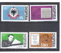 ALB22  ALBANIEN 1971  MICHL  1461/64  ** Postfrisch SIEHE ABBILDUNG - Albanien