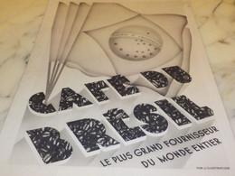 ANCIENNE PUBLICITE CAFE DU BRESIL 1936 - Posters