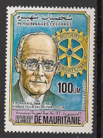 Mauritanie - 1984 - Poste Aérienne PA N°Yv. 217 - Rotary - Neuf Luxe ** / MNH / Postfrisch - Mauritanie (1960-...)