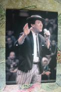 Russia. Circus. Yuri Nikulin, Famous Russian Clown - Old Postcard 1986 - Circus