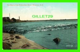 MONCTON, NEW BRUNSWICK - THE BORE OF THE PETITCODIAC RIVER - THE VALENTINE & SONS - - Nouveau-Brunswick
