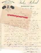 30 - UCHAUD- FACTURE MANUSCRITE SIGNEE- JULES REBOUL- PROPRIETAIRE VITICULTEUR- MEDAILLE CONCOURS AGRICOLE PARIS 1906- - France