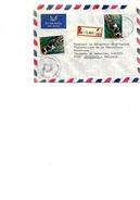 N° 965(2) S/Lettre RECOMMANDEE - AVION De KIGALI Vers Bruxelles. TB