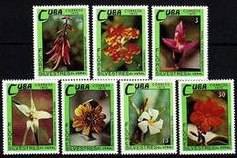 Kuba  1973 MiNr. 1909/ 1915  ** / Mnh ; Blüten Wildwachsender Pflanzen - Pflanzen Und Botanik